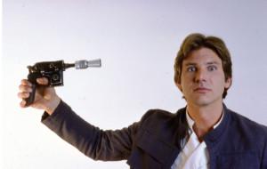 Han Solo Shoots Self